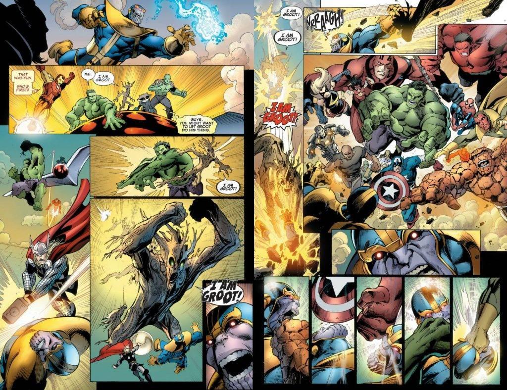 Как победить Таноса? Примеры из комиксов 12