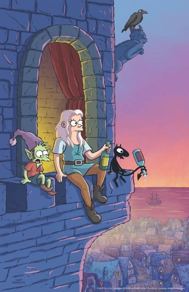 Мэтт Грейнинг тизерит свой стёбный фэнтези-мультсериал для Netflix 7