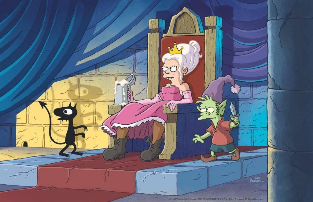 Мэтт Грейнинг тизерит свой стёбный фэнтези-мультсериал для Netflix 8