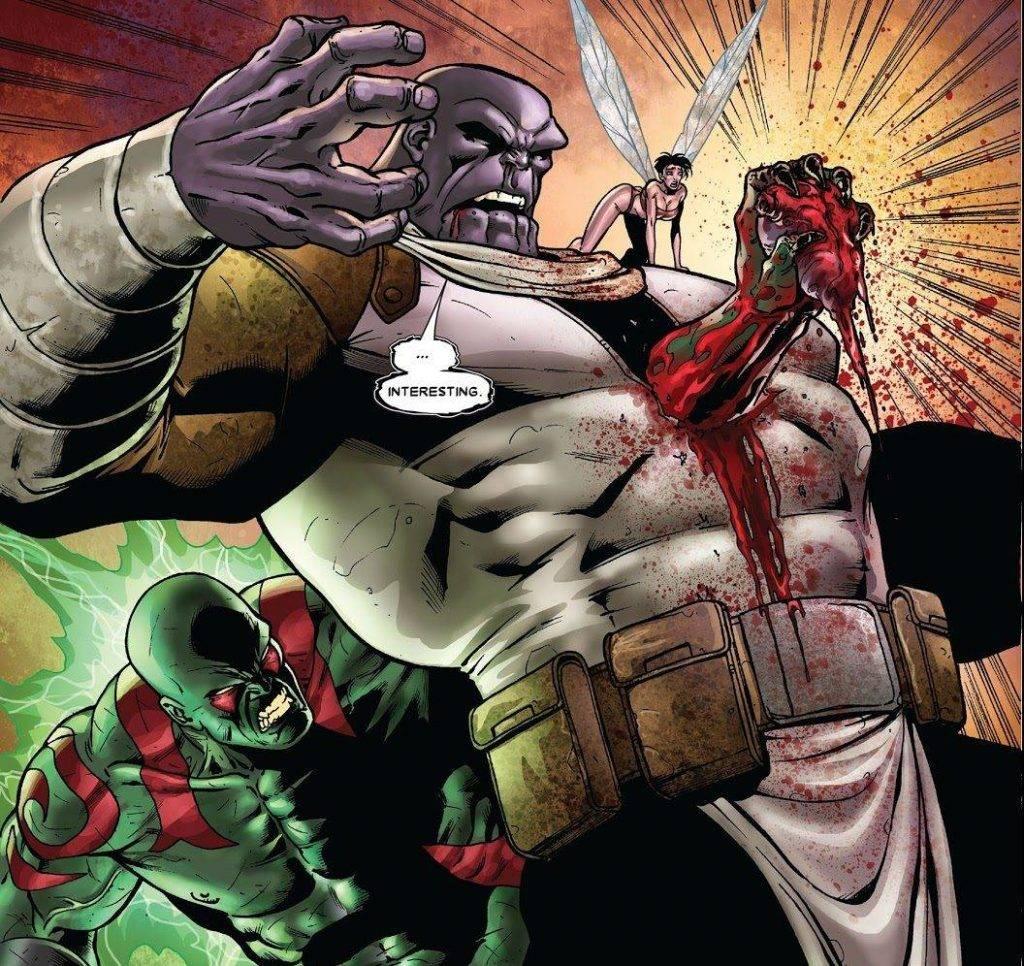 Как победить Таноса? Примеры из комиксов 7
