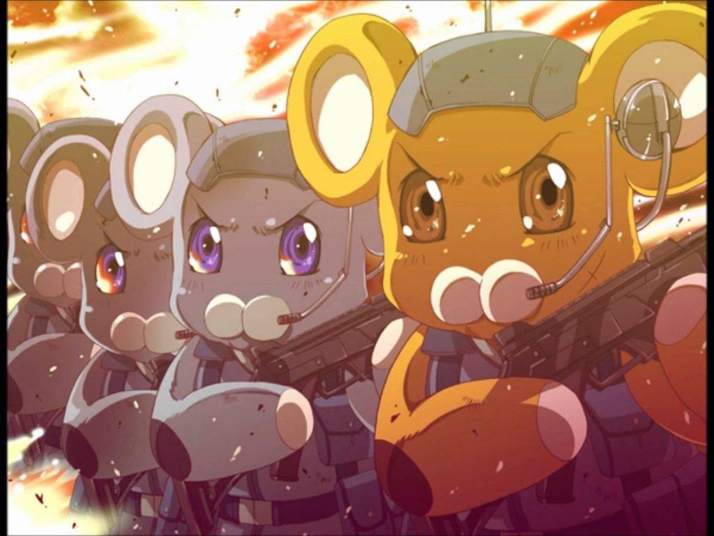 «Стальная тревога!»: мир и герои аниме 36