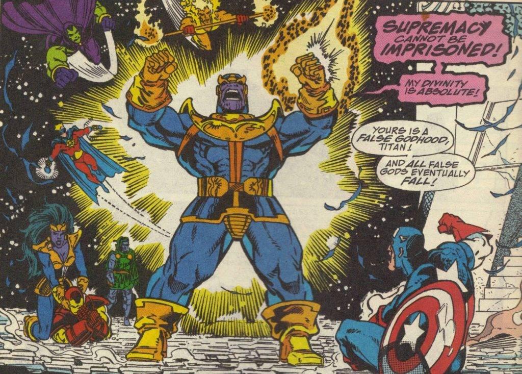 Как победить Таноса? Примеры из комиксов 5