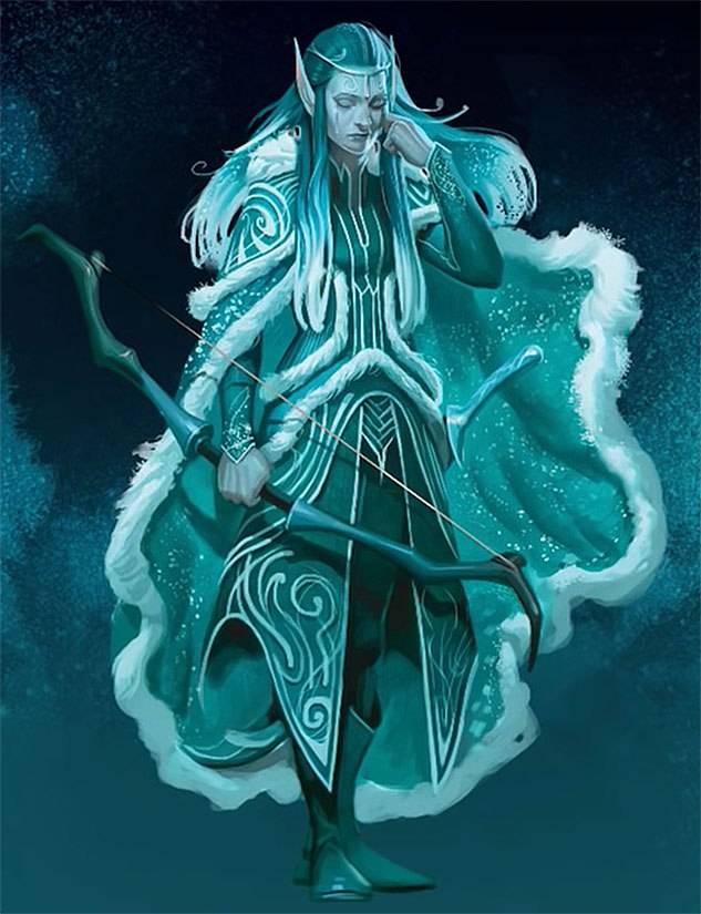 Арт: демоны, монстры и могущественный волшебник в новой книге Dungeons & Dragons 12