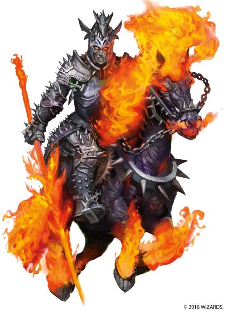 Арт: демоны, монстры и могущественный волшебник в новой книге Dungeons & Dragons 8