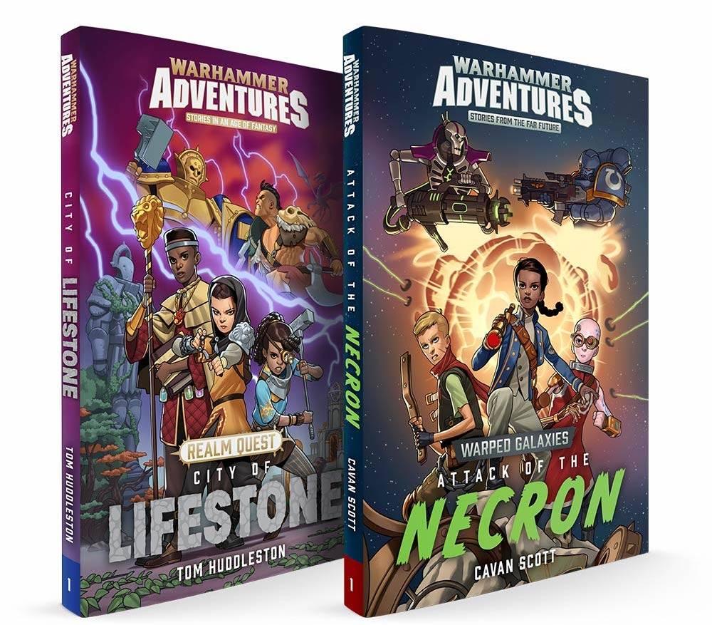 Games Workshop анонсировали детские книжки по двум вселенным Warhammer 1