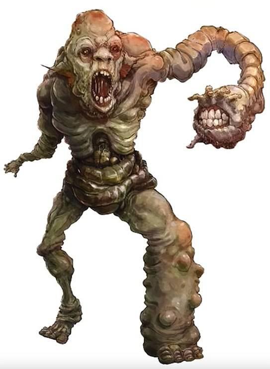 Арт: демоны, монстры и могущественный волшебник в новой книге Dungeons & Dragons 20