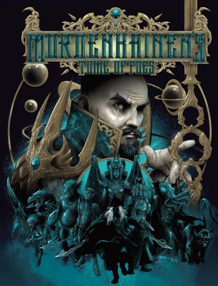 Арт: демоны, монстры и могущественный волшебник в новой книге Dungeons & Dragons 2