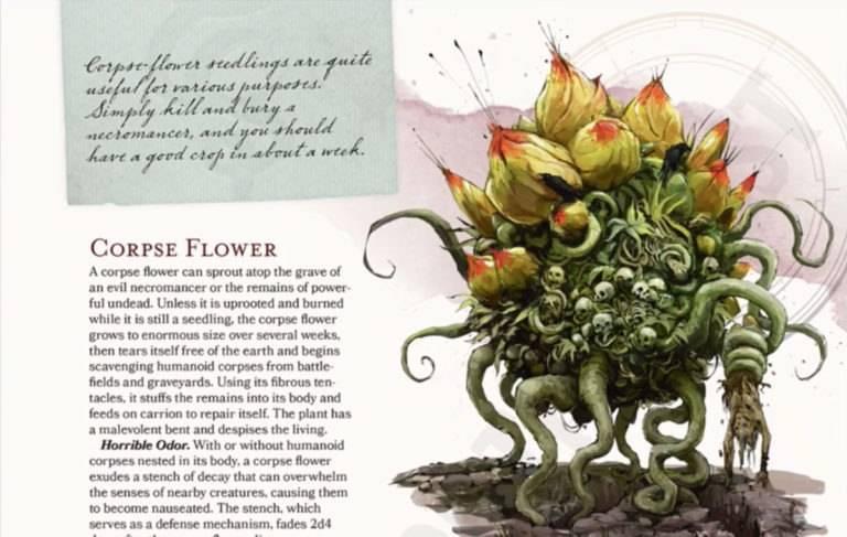 Арт: демоны, монстры и могущественный волшебник в новой книге Dungeons & Dragons 6