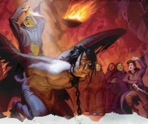 Арт: демоны, монстры и могущественный волшебник в новой книге Dungeons & Dragons
