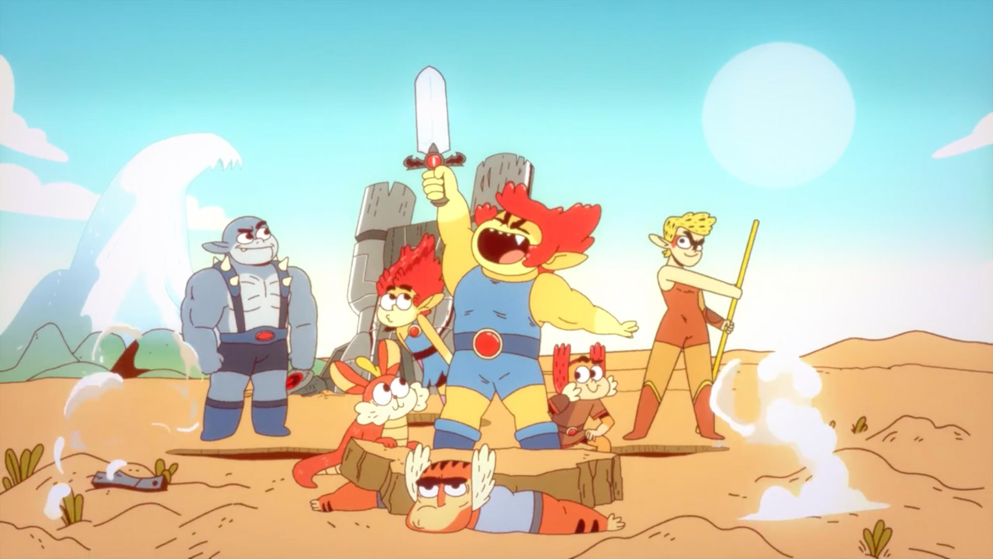 Cartoon Network перезапускает мультсериал про Громовых кошек