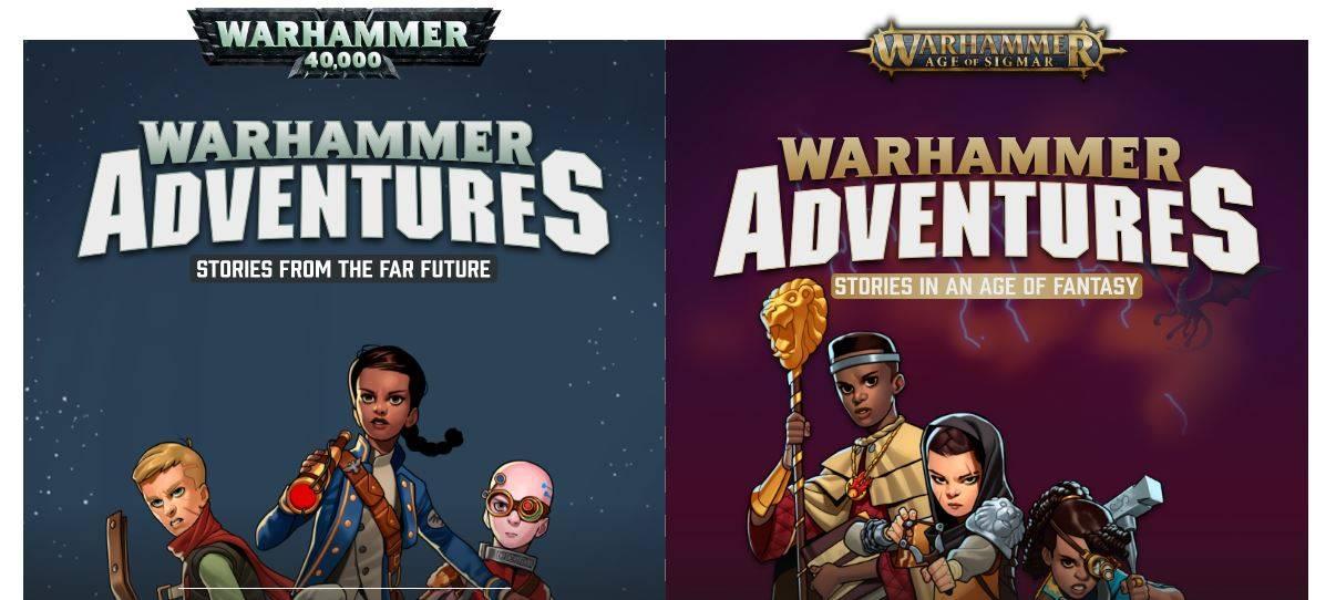 Games Workshop анонсировали детские книжки по двум вселенным Warhammer
