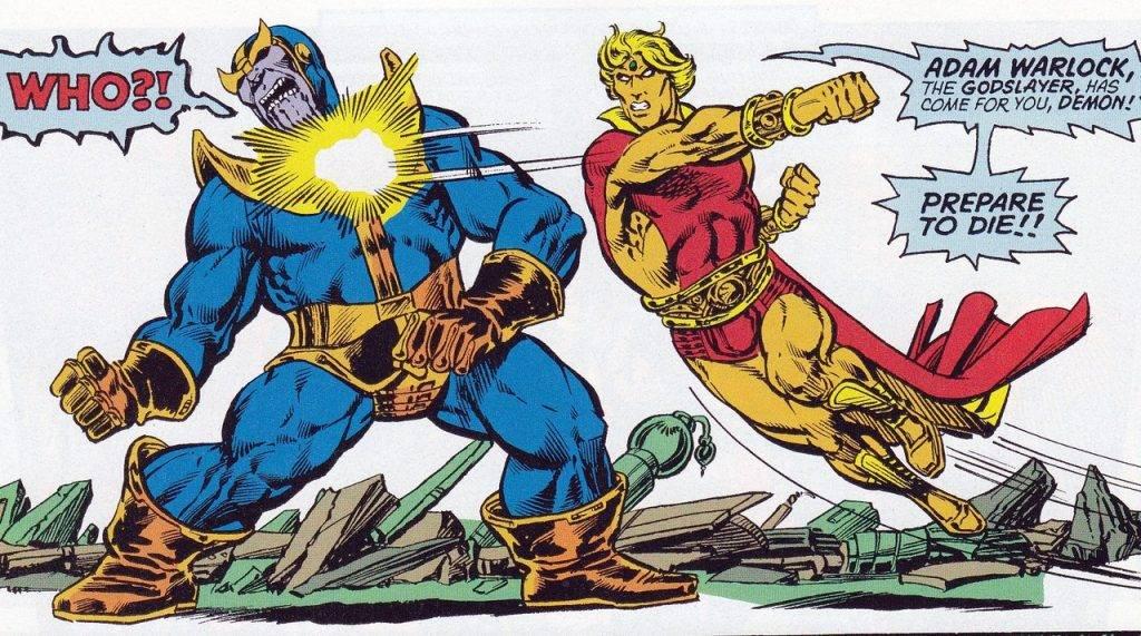 Как победить Таноса? Примеры из комиксов 1