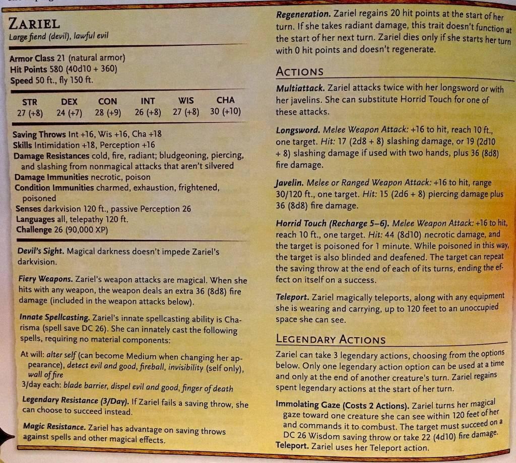 Арт: демоны, монстры и могущественный волшебник в новой книге Dungeons & Dragons 11