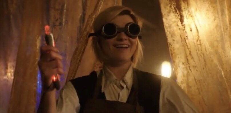 В Сеть слили отрывок нового Доктора Кто. Вот только посмотрите на Тринадцатую! 1