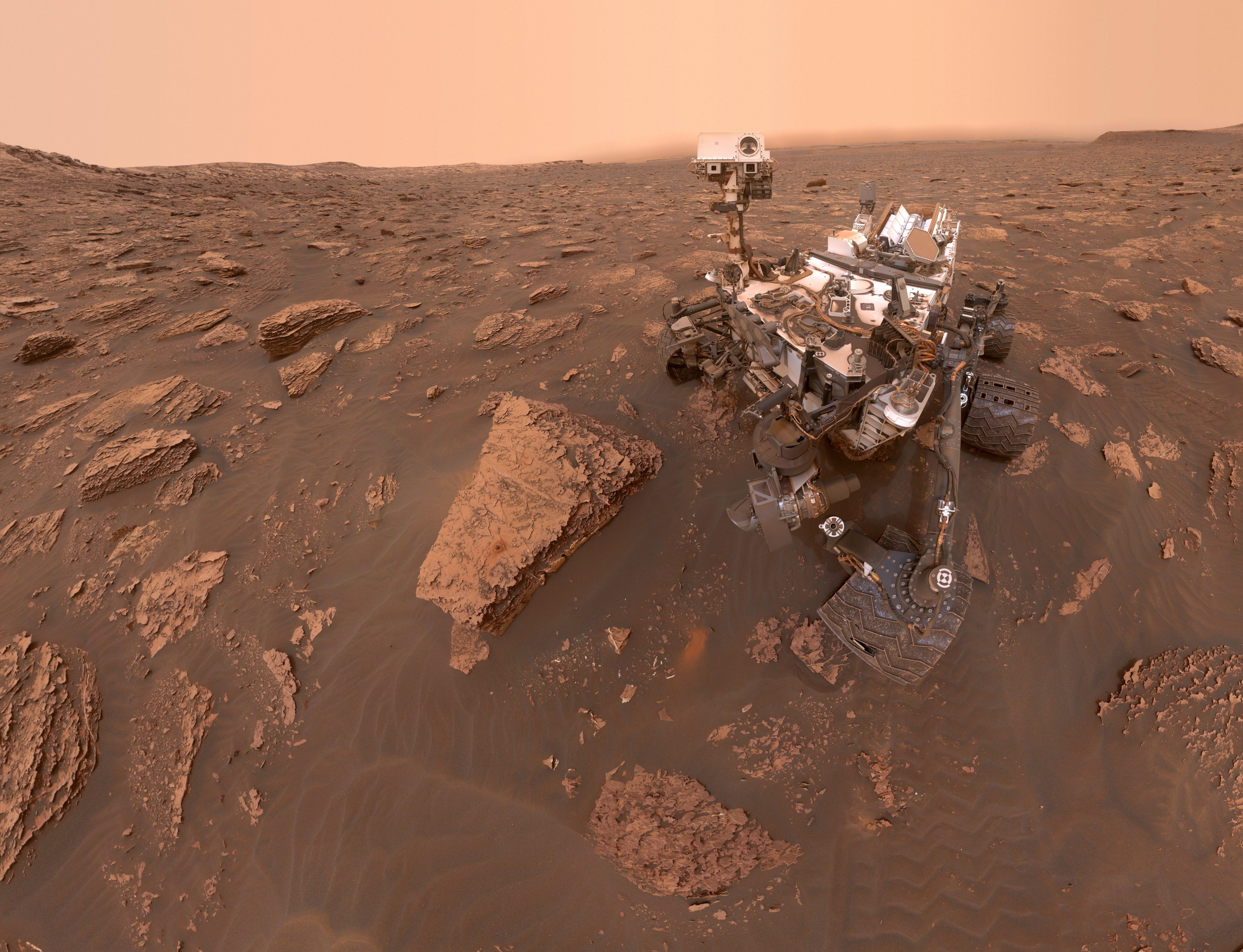 На Марсе началась пылевая буря планетарного масштаба, мешающая работе «Оппортьюнити» 1