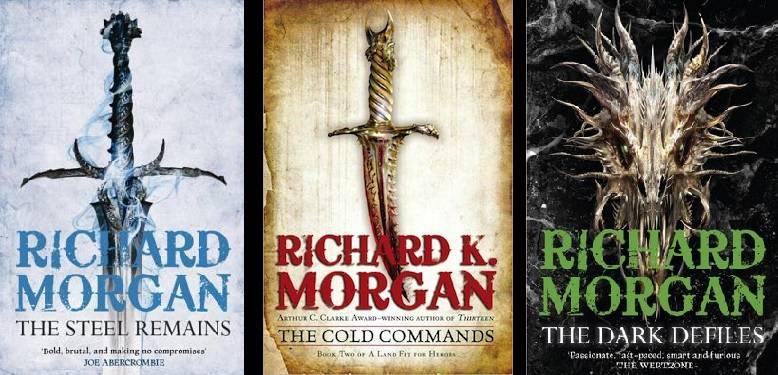 «Астрель-СПб» издаст фэнтезийную трилогию Ричарда Моргана «Страна, достойная своих героев»