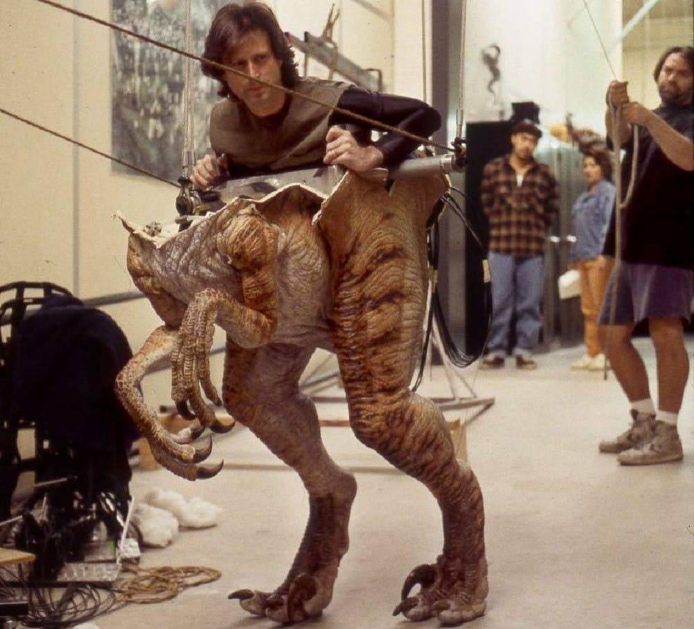 Как создают динозавров в кино 2
