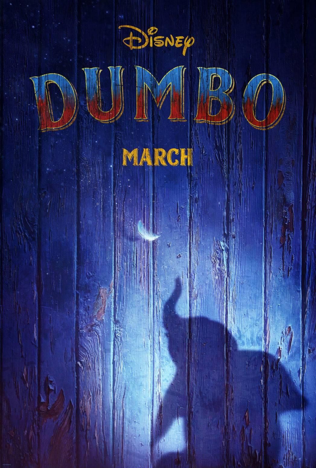 Вышел первый тизер фильма «Дамбо» от Тима Бёртона 1