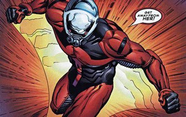 Человек-муравей. Скотт Лэнг