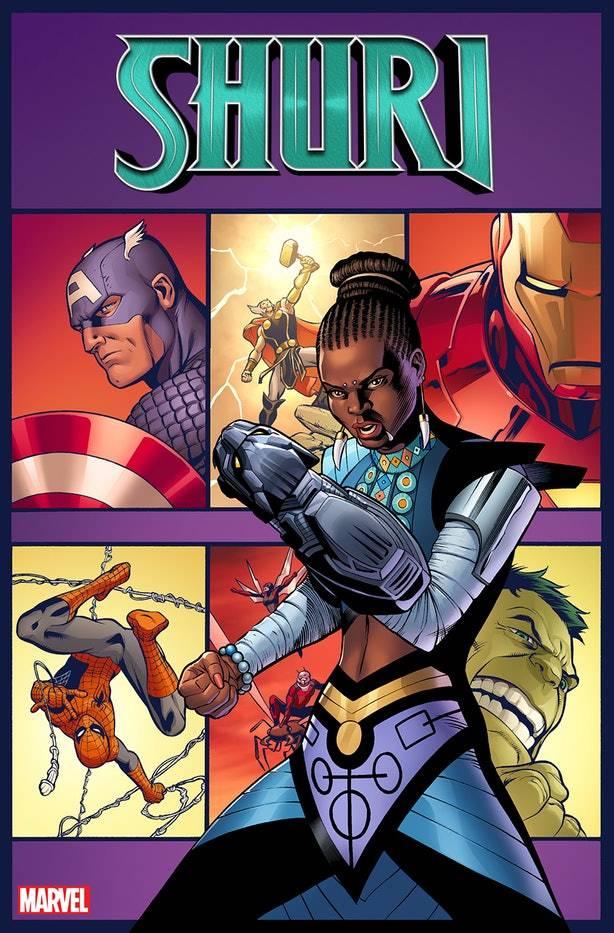 Шури из «Чёрной пантеры» получит собственный комикс от Marvel 1