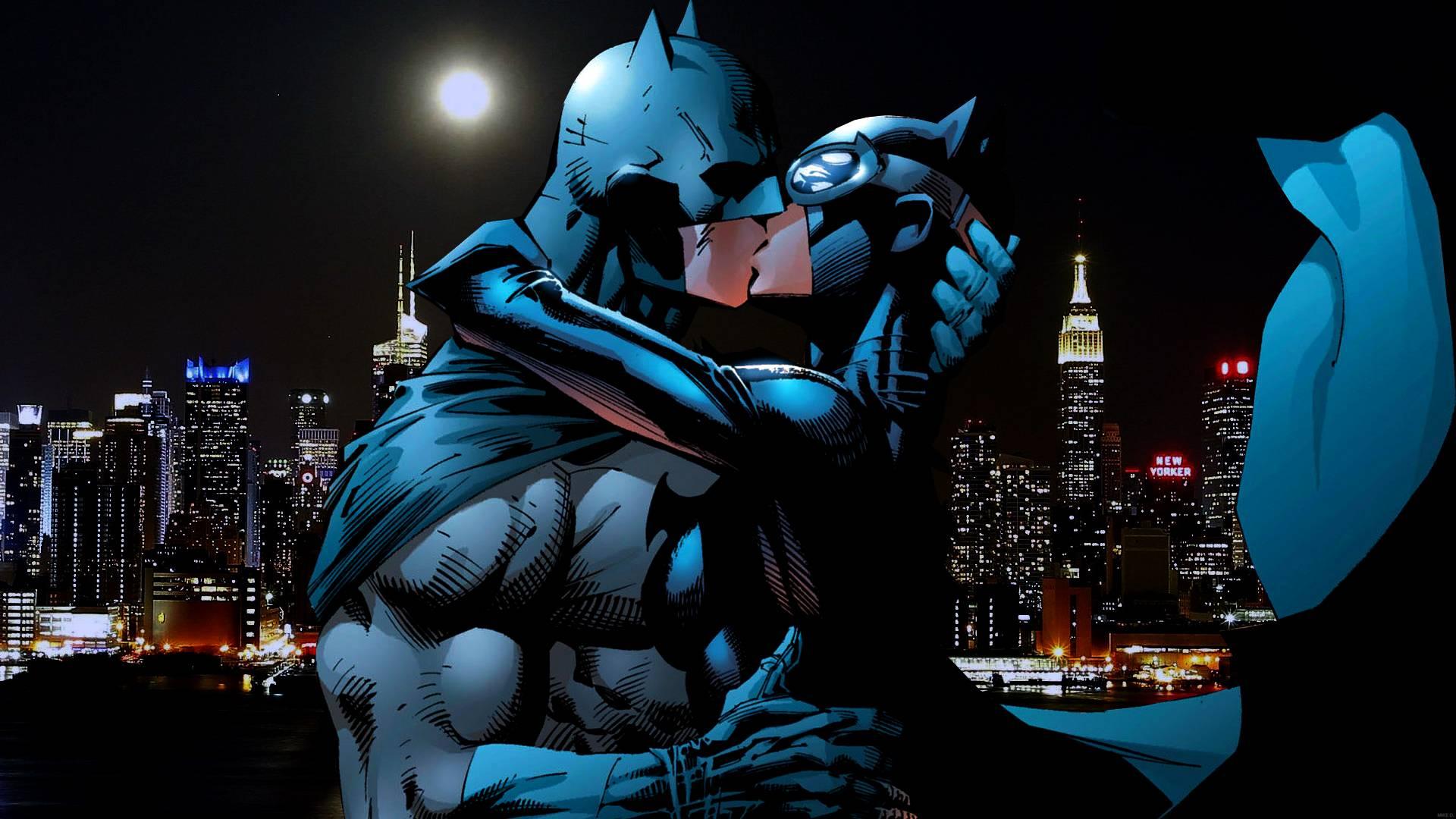 Свадьба Бэтмена и Женщины-кошки. Что происходит? 1