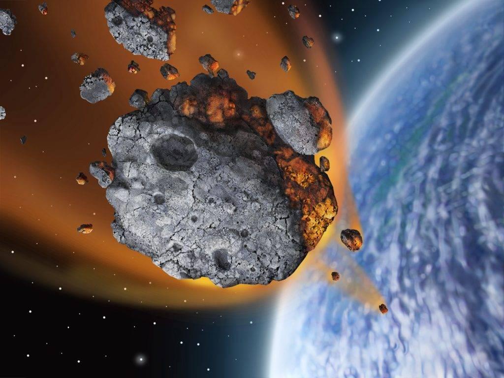 Обои обломки, астероиды, земля. Космос foto 11