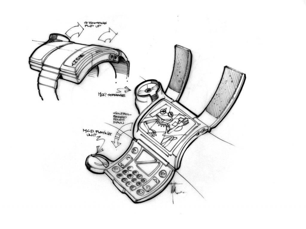 Техника из «Назад в будущее 2» на концепт-артах 1