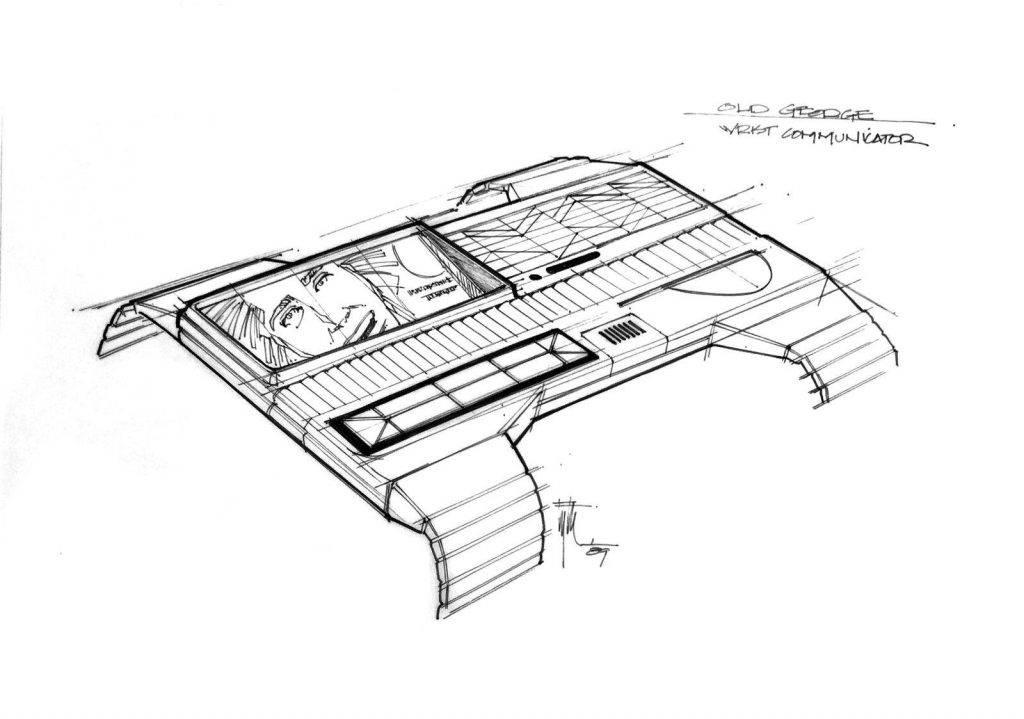 Техника из «Назад в будущее 2» на концепт-артах 2