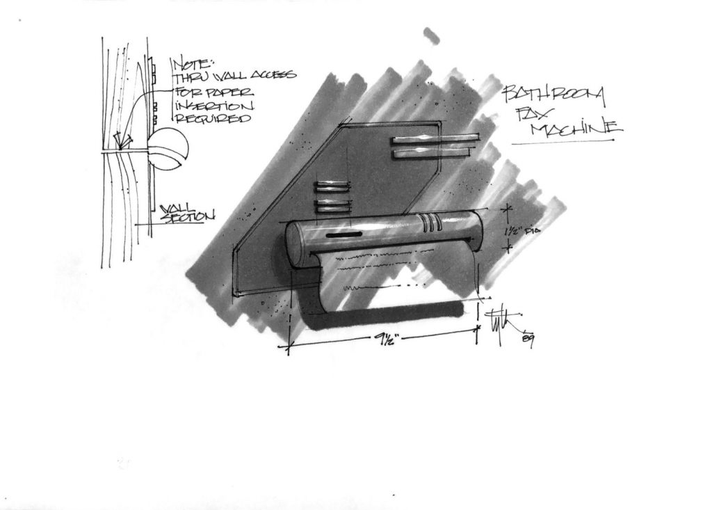 Техника из «Назад в будущее 2» на концепт-артах 17