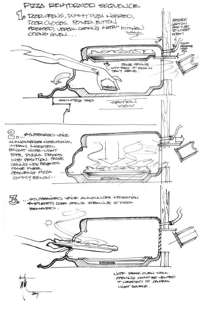 Техника из «Назад в будущее 2» на концепт-артах 10