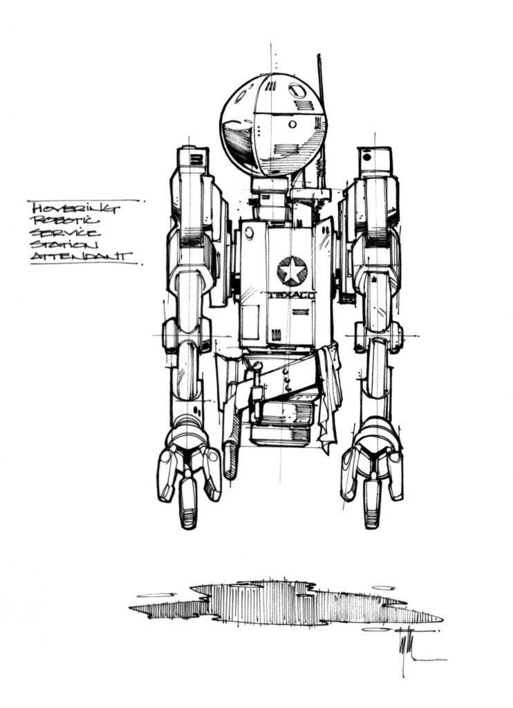 Техника из «Назад в будущее 2» на концепт-артах 12