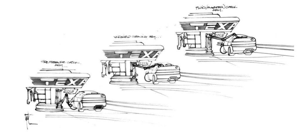 Техника из «Назад в будущее 2» на концепт-артах 13