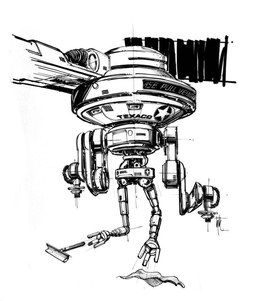 Техника из «Назад в будущее 2» на концепт-артах 15