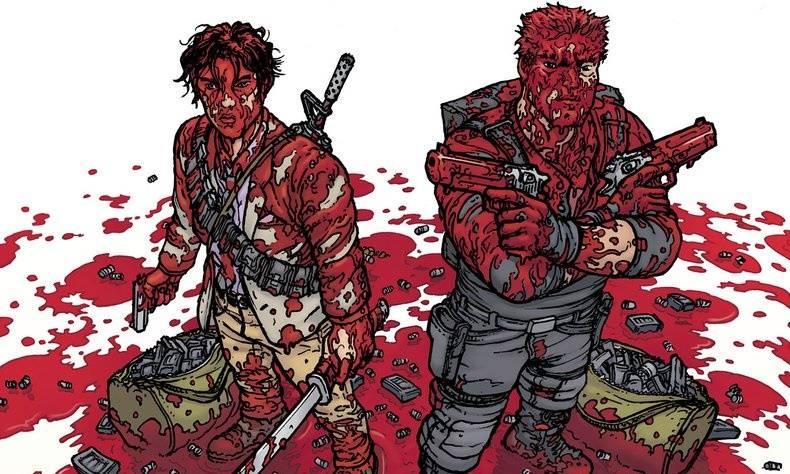 Автор «Ходячих мертвецов» выпускает новый комикс Die!Die!Die!