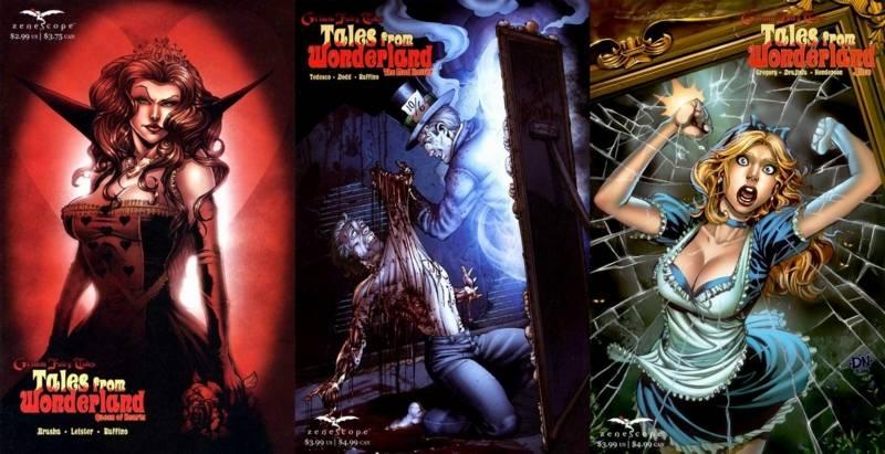 «Алиса в Стране чудес» и её адаптации: всё страньше и страньше! 11