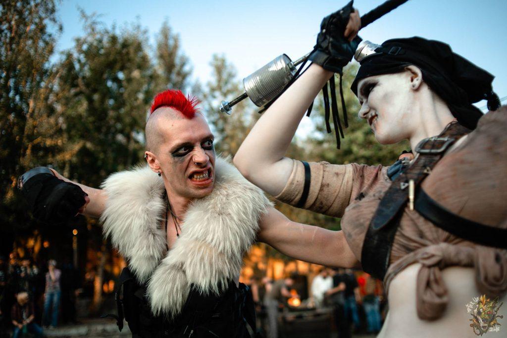 Фестиваль постапокалипсиса Aftertown: безумные фотографии 1