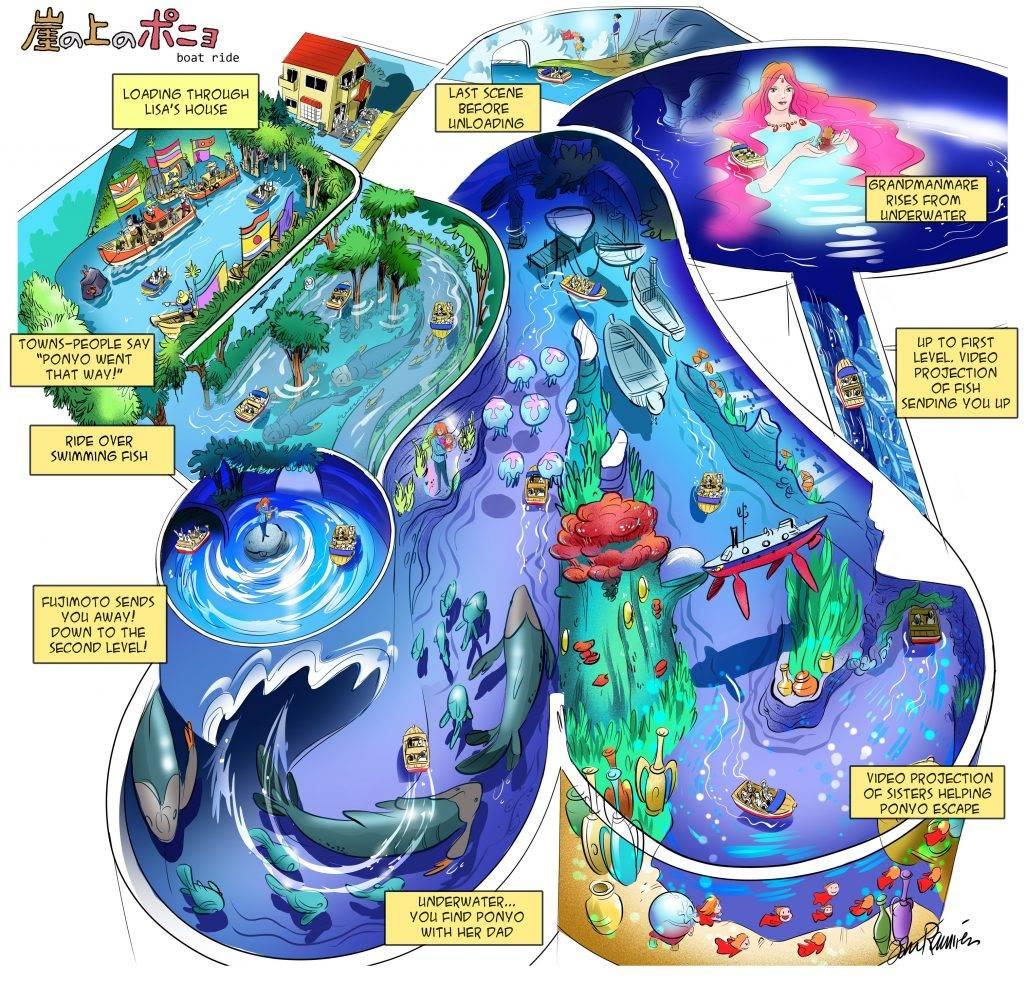 Дизайнер Disney представил аттракицоны по творениям 7