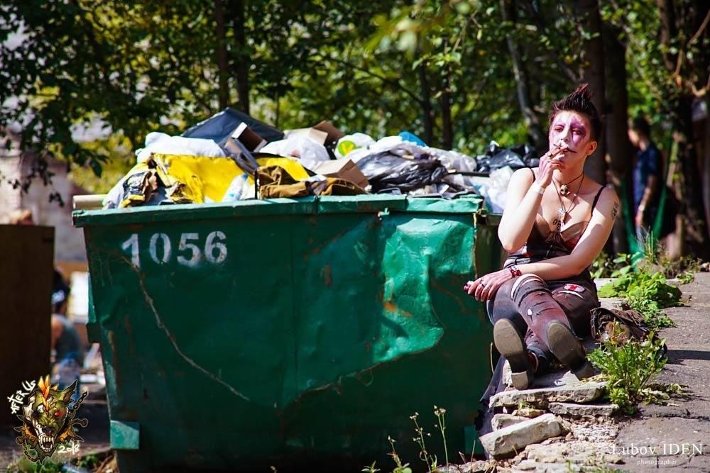 Фестиваль постапокалипсиса Aftertown: безумные фотографии 5