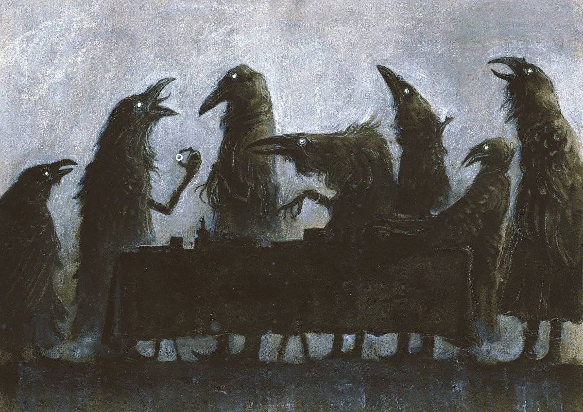 Мистические картины Яны Хайденсдорф 9