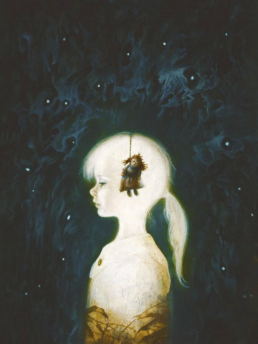 Мистические картины Яны Хайденсдорф 7