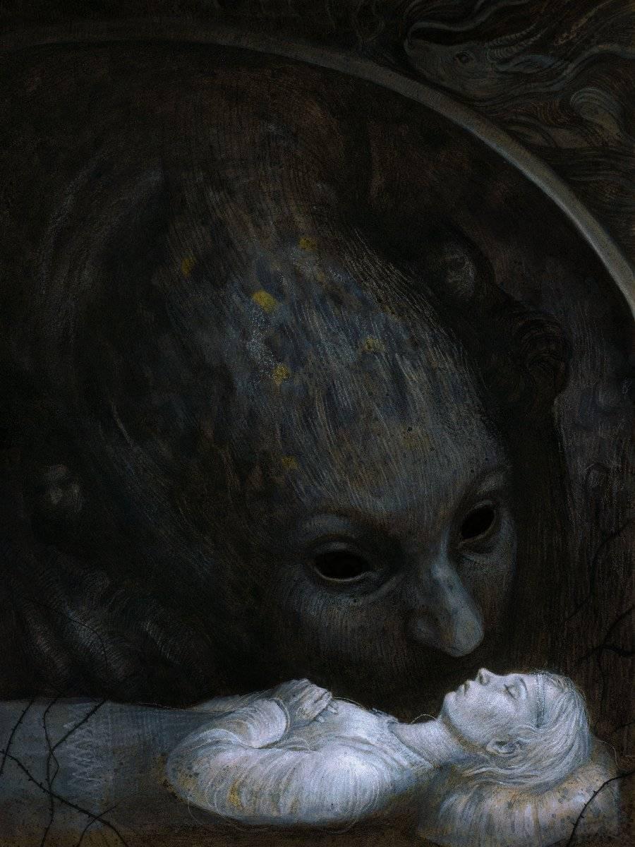 Мистические картины Яны Хайденсдорф 8