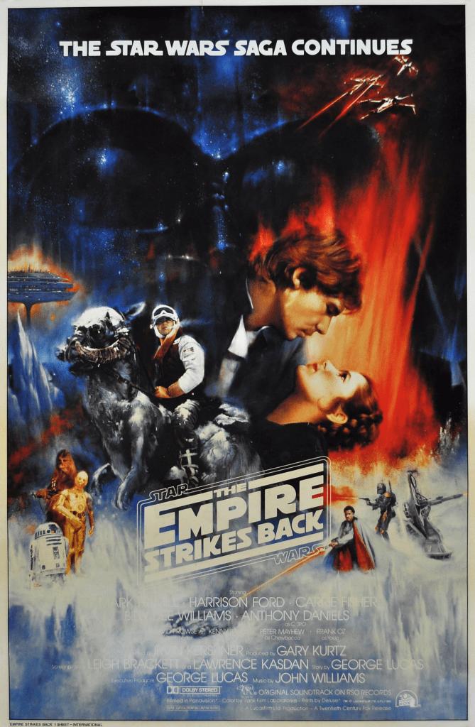 Редчайший постер дляпятого эпизода «Звёздных войн» купили за$26 тысяч
