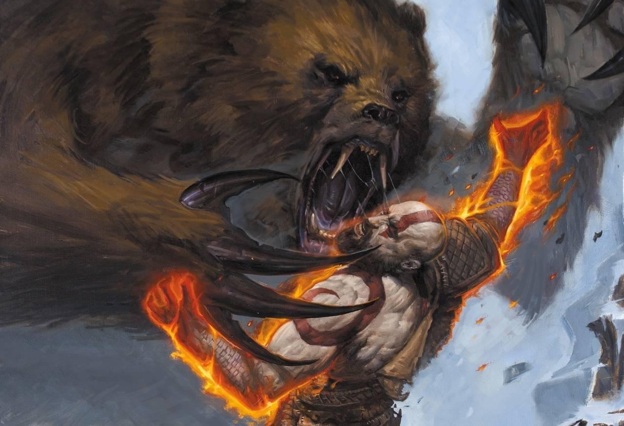 Dark Horse выпустит комиксы по God of War