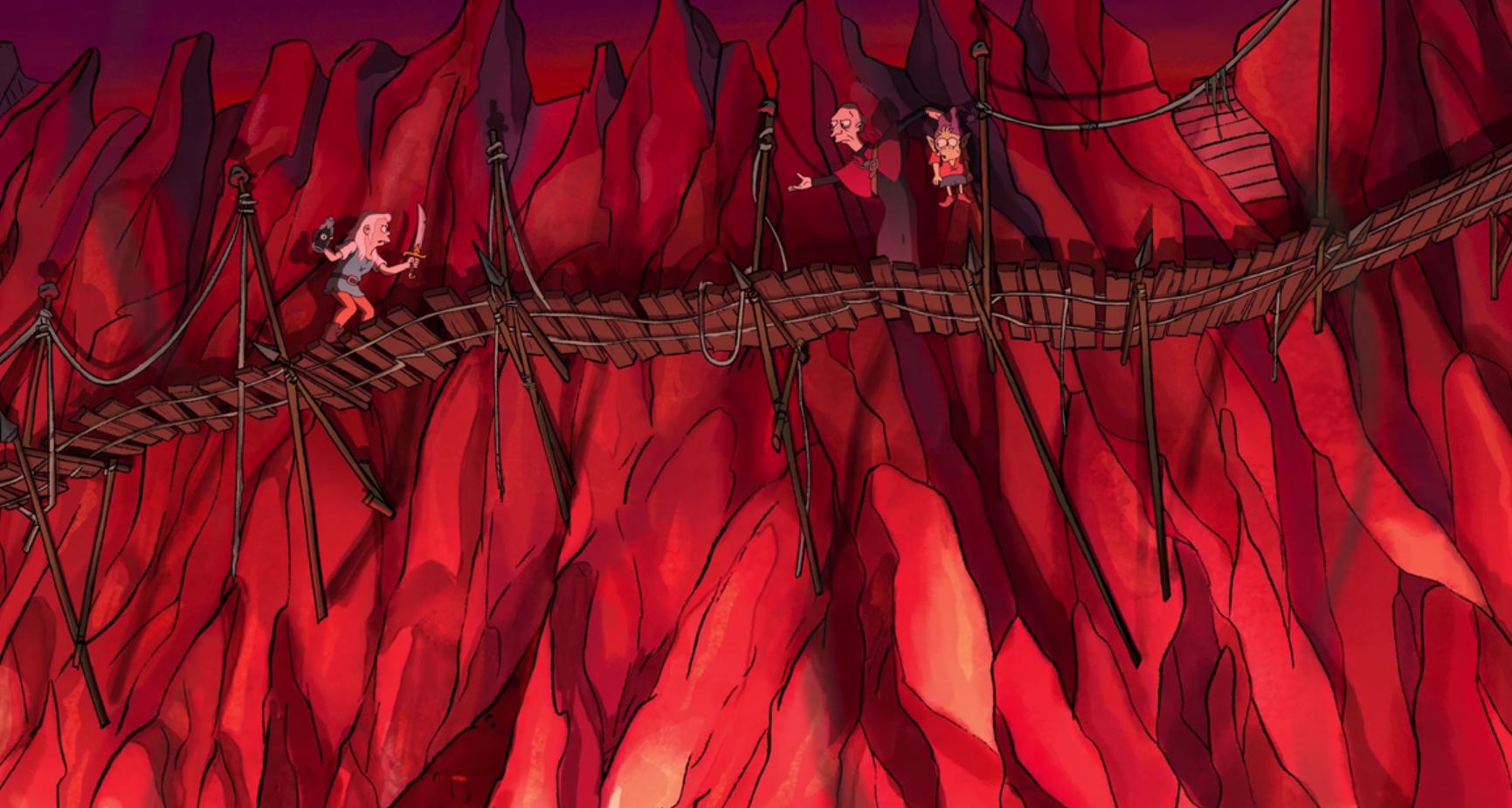 Отсылки и пасхалки в «Разочаровании» — новом мультсериале Мэтта Грейнинга 12