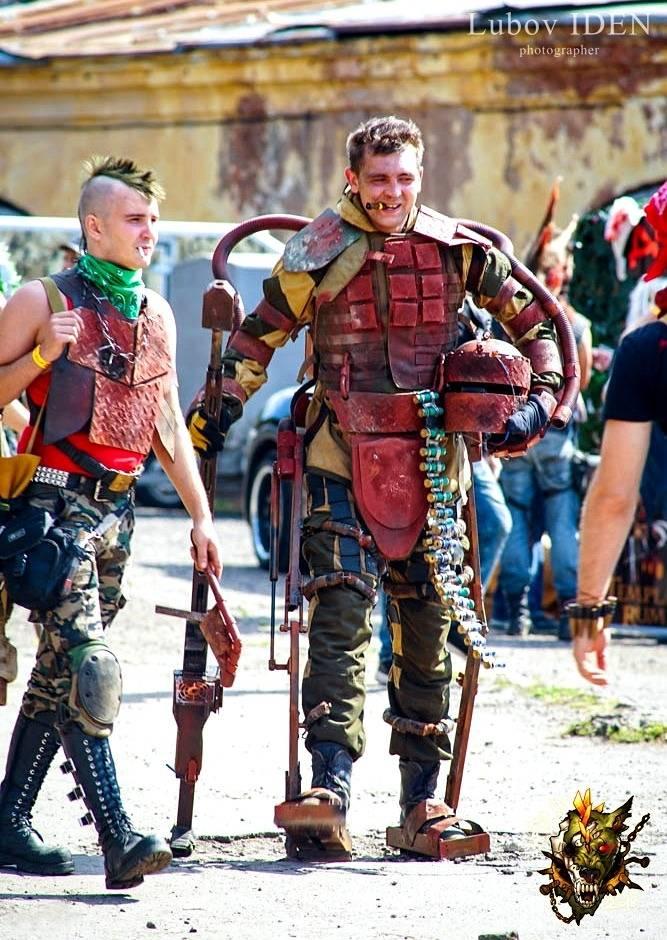 Фестиваль постапокалипсиса Aftertown: безумные фотографии 9