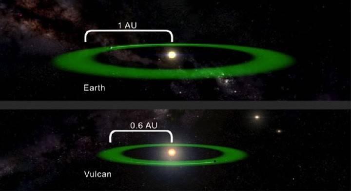 Американские астрономы нашли планету Вулкан из «Звездного пути»