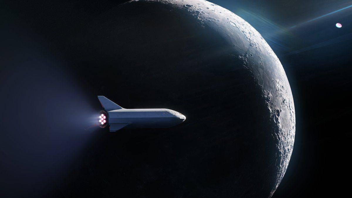 SpaceX нашла пер