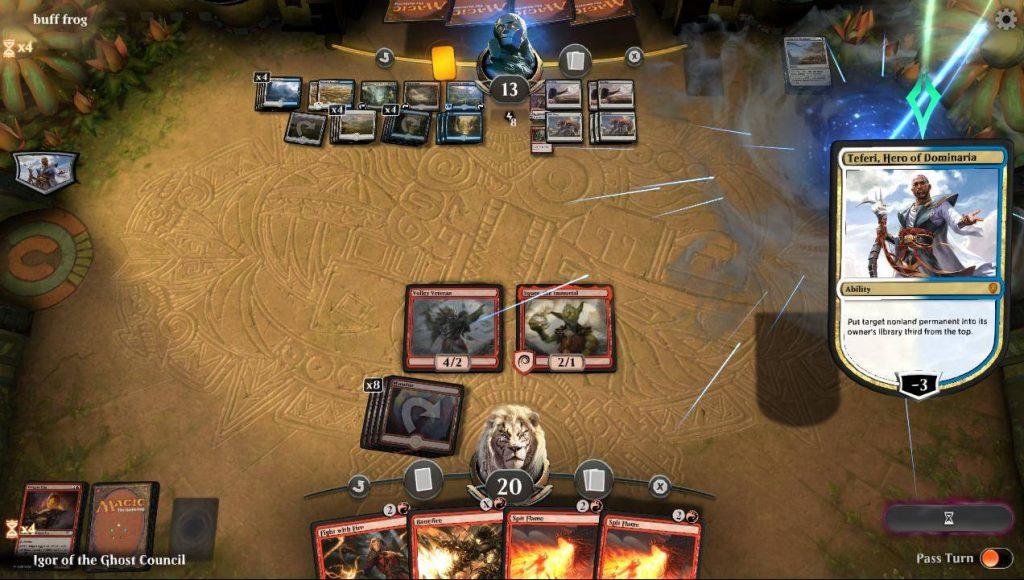Впечатления от бета-теста Magic: The Gathering Arena 3