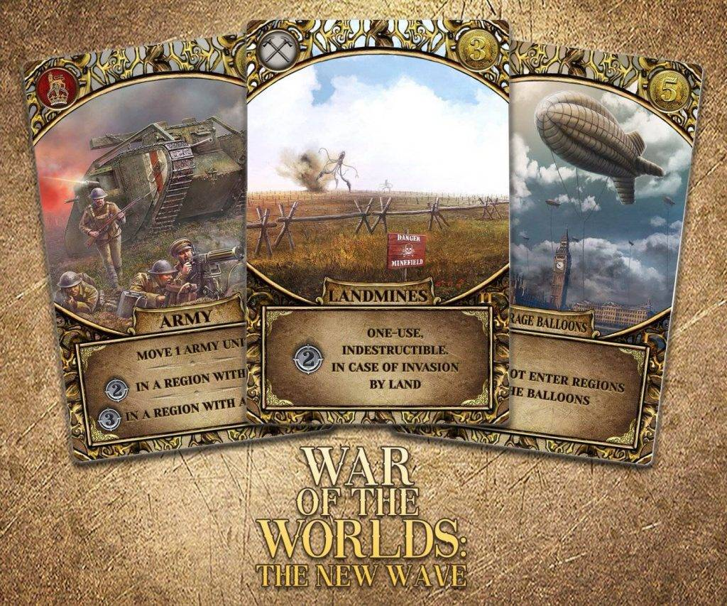 «Война миров: Новая угроза». Обзор настольной игры 2
