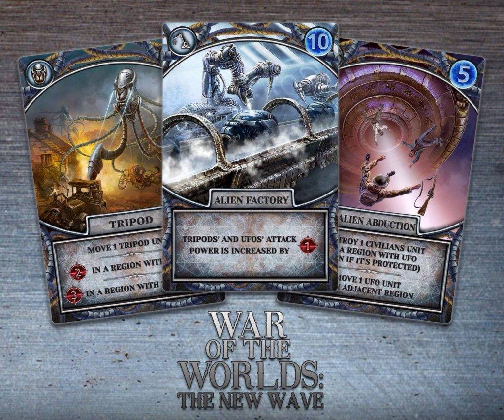 «Война миров: Новая угроза». Обзор настольной игры 3